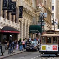 Tram op Union Square