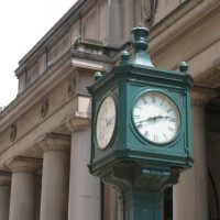 Klok bij Union Station