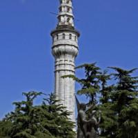 Toren bij de Universiteit van Istanbul