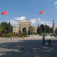 Beeld van de Universiteit van Istanbul