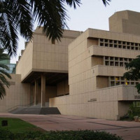 Gebouw van de universiteit van Tel Aviv