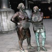 Standbeeld voor werkende vrouwen