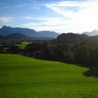 Pittoresk beeld bij Salzburg