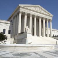 Voorkant van het US Supreme Court