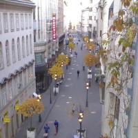 Straatbeeld van de Váci Utca