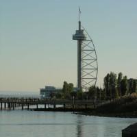 Vergezicht op de Torre Vasco da Gama