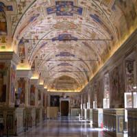 Zaal van de Vaticaanse Musea