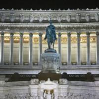 Standbeeld voor het Victor Emanuel II -monument
