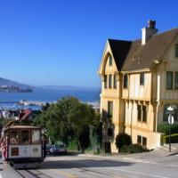 Overzicht op de baai van San Francisco