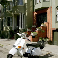 Vespa in San Francisco