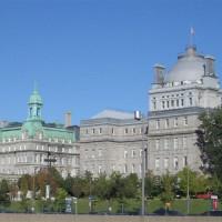 Gebouwen in Vieux-Montréal