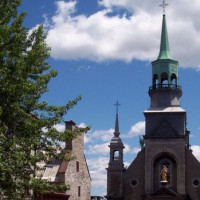 Kerkgebouw in Vieux-Montréal
