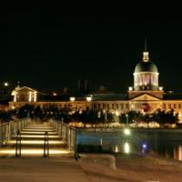 Vieux-Port bij avond