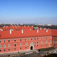 Luchtbeeld van het Koninklijk Paleis