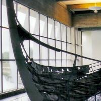 Origineel vikingschip