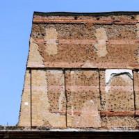 Muur van de Villa van Hadrianus