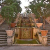 Trappen in de Vizcaya Gardens