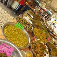 Specerijenkraam op de Vogelenmarkt