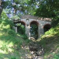 Brug in het Volkspark Glienicke