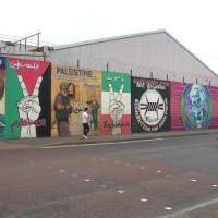 Beeld van the Murals of Belfast