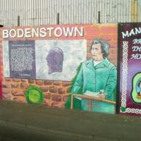 Een van de Murals of Belfast