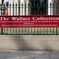 Naambord van de Wallace Collection