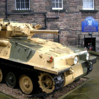 Tank voor het National War Museum