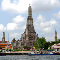 Beeld op de Wat Arun tempel