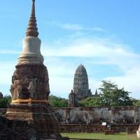 Vergezicht op het Wat Mahathat