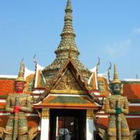Ingang van het Wat Phra Kaew