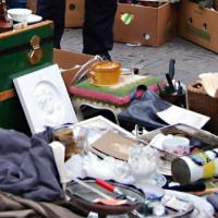 Rommelmarkt op het Waterlooplein
