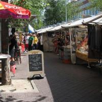 Kraampjes op het Waterlooplein