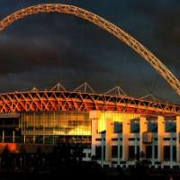 Schemerbeeld op Wembley Stadium