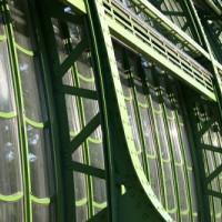 Glasramen van het Palmenhaus