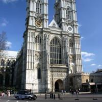 Gevel van Westminster Abbey