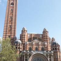 Voorkant van Westminster Cathedral