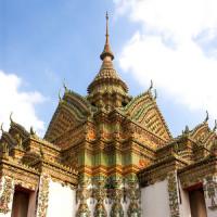 Dak van het Wat Pho