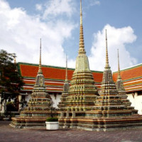 Binnenplaats van het Wat Pho