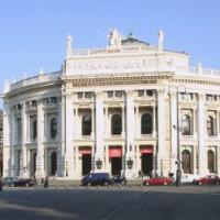 Totaalbeeld van het Burgtheater