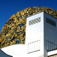 Detail van het Secessiongebouw