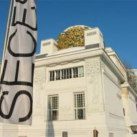 Aanzicht van het Secessiongebouw