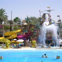 Zwemparadijs in het Wild Wadi Water Park