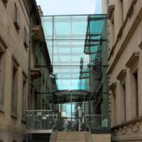 Glaspartij aan de Whitworth Art Gallery