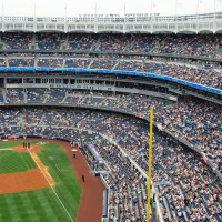 Tribunes van Yankee Stadium