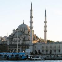 Beeld van de Yeni Moskee