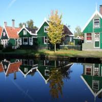 Huisjes in de Zaanse Schans