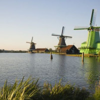 Windmolens in de Zaanse Schans
