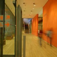 Binnen in het Zentrum Paul Klee in Bern