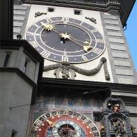 Klokken op de Zytglogge