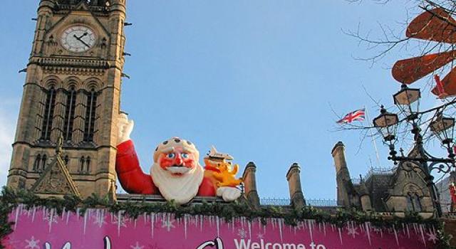 Kerstmarkten van Manchester